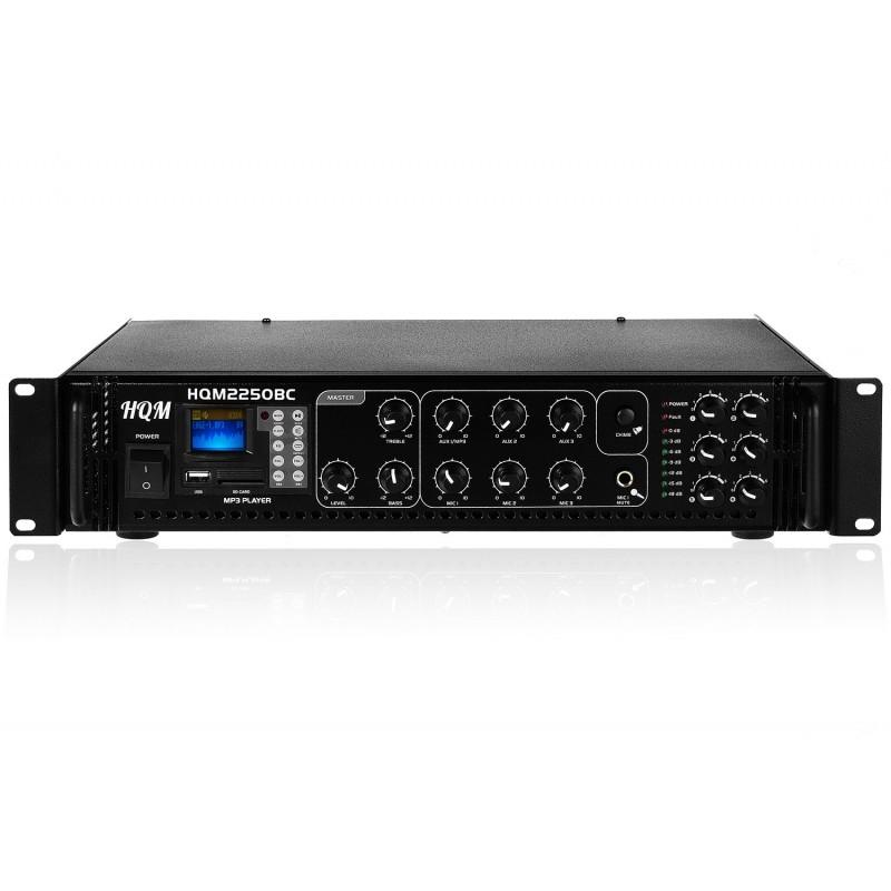 wzmacniacz audio - nagłośnienie sufitowe 100v