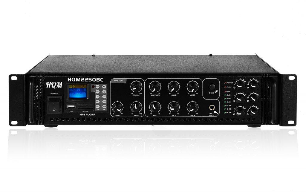 wzmacniacz radiowęzłowy 100V / PA - HQM