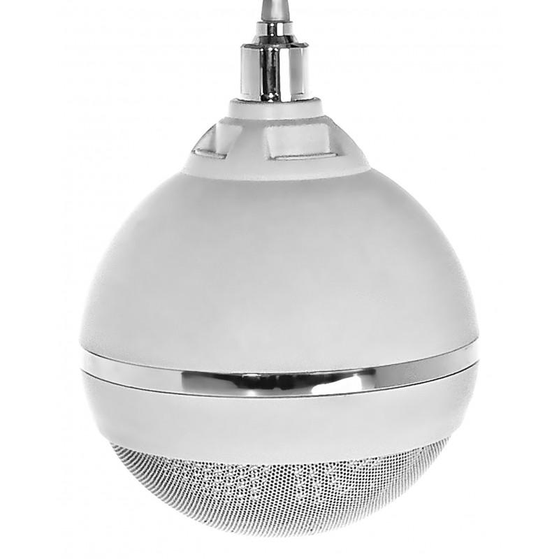 kulowy głośnik sufitowy - montaż na uchwycie sufitowym