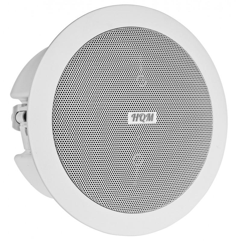 okrągły głośnik sufitowy dwudrożny - sufit podwieszany