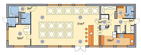 Przykładowy zestaw sprzętowy nagłośniania 100V